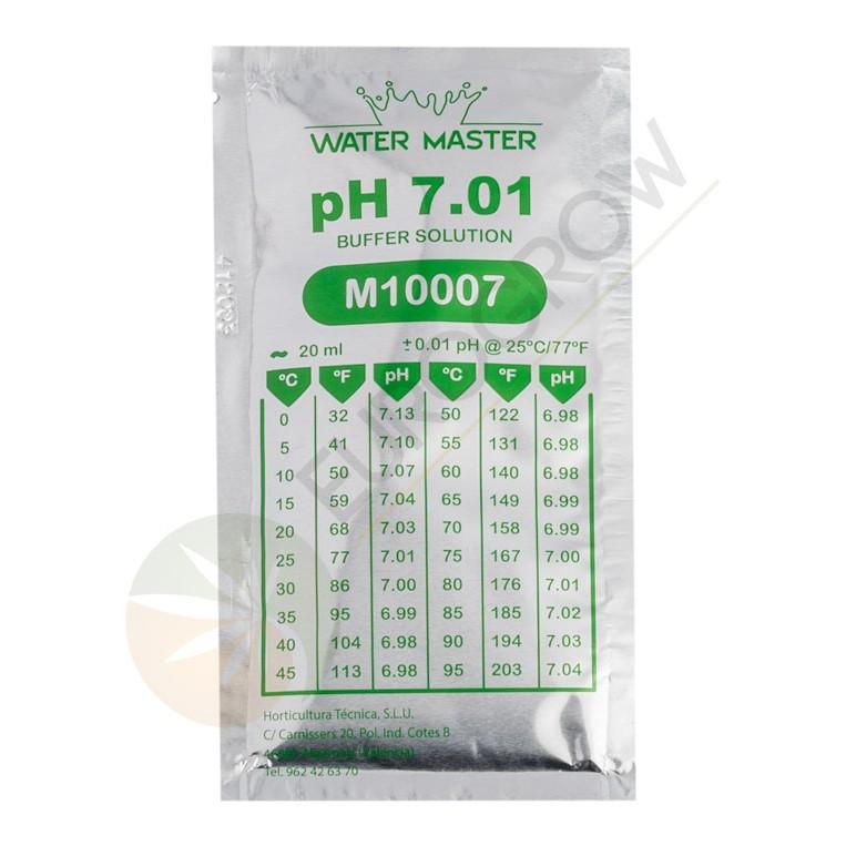 Liquido Calibrador Ph 7.01. Sobre 20ml