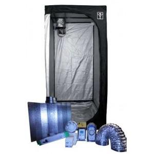 Kit armario de Cultivo interior 120x120x200 Cooltube