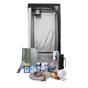 Kit Cultivo 400w 100x100x200  Medio con Fertilizantes