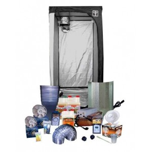 Armario cultivo interior kit 120x120x200 600W Completo