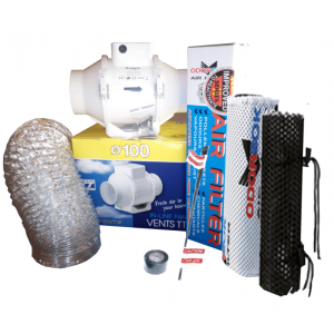 Kit extraccion 100mm Extractor TT