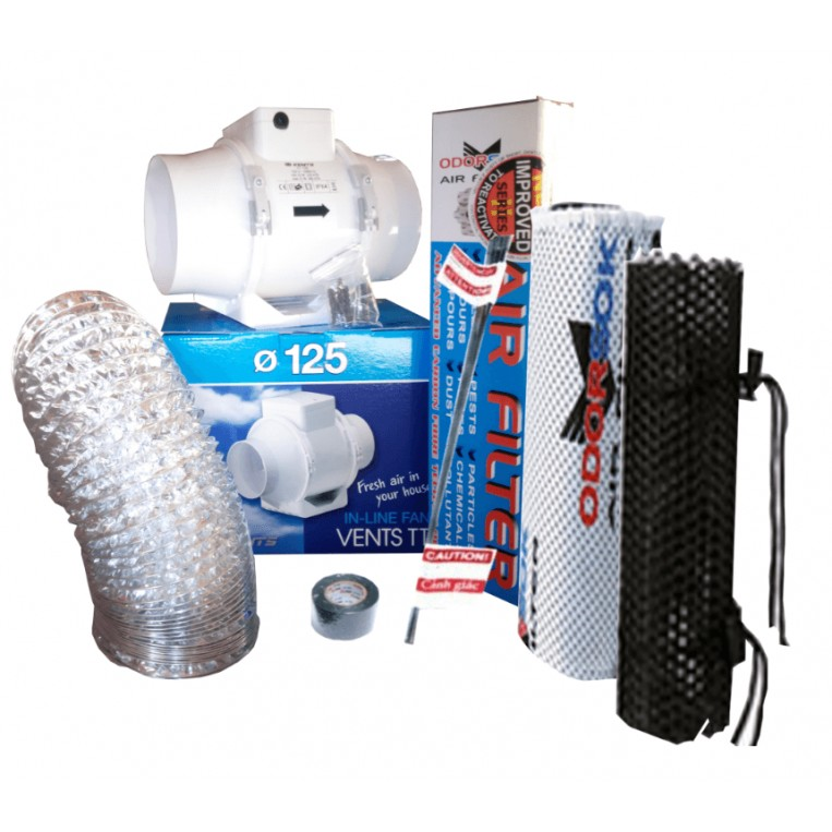 Kit extraccion 125mm Extractor TT