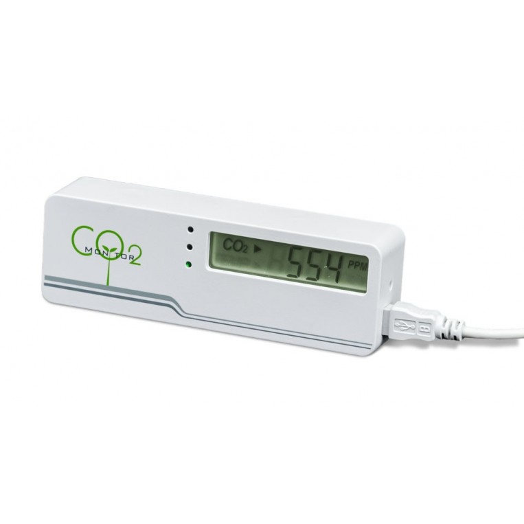 Medidor de CO2 PPM Ambiental