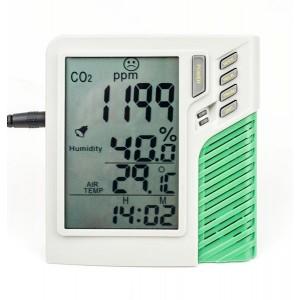 Medidor de Co2 Temp y Humedad