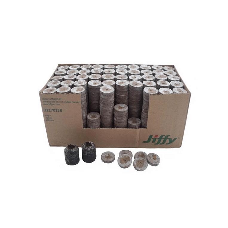 Caja Jiffy 24 mm 2000 Unidades