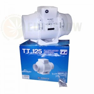Extractor de aire Vents TT 125 220/280 m³/h (125mm)