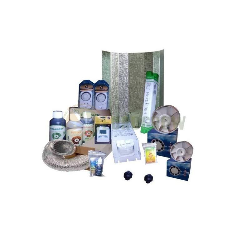 Kit 400W Sin armario Cultivo Interior