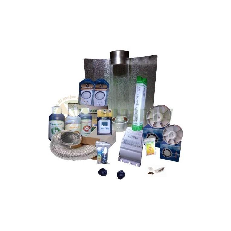 Kit 400W Sin armario + Cooltube Cultivo Interior