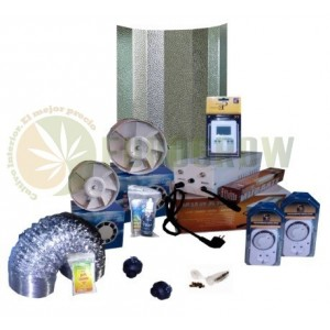 Kit cultivo interior 600W Sin armario