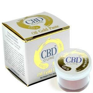 Oil gold paste CBD Cure