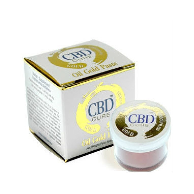 Oil gold paste CBD Cure