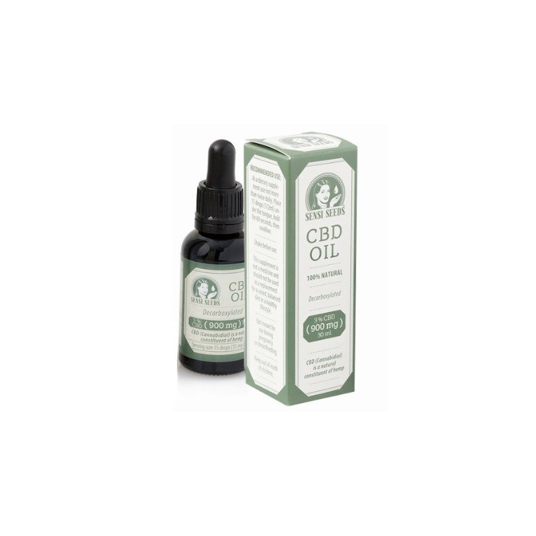 Aceite CBD Sensi Seeds 30 ml
