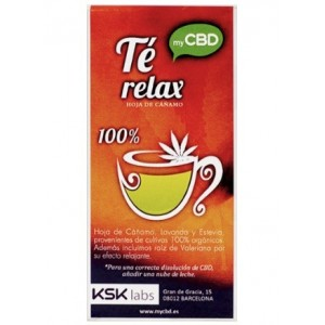 Te Relax myCBD 20 Bolsitas