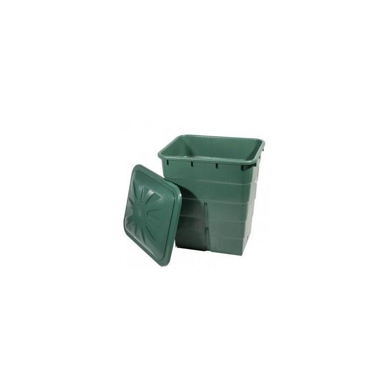 Deposito cuadrado verde 200L y 300L
