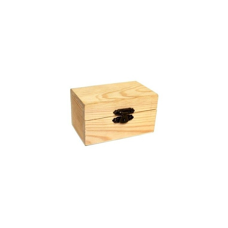Caja de madera para curado pequeña