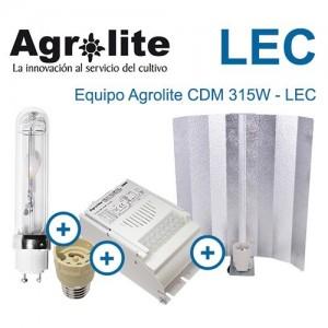 Kit Lec 315w Agrolite Magnético