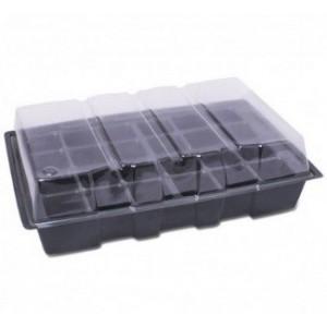 Propagador Plástico con Bandeja 24