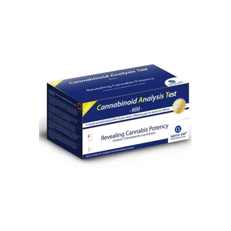 Alpha-Cat Mini Kit análisis de cannabinoides