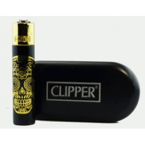 Clipper Metal Skull + Estuche