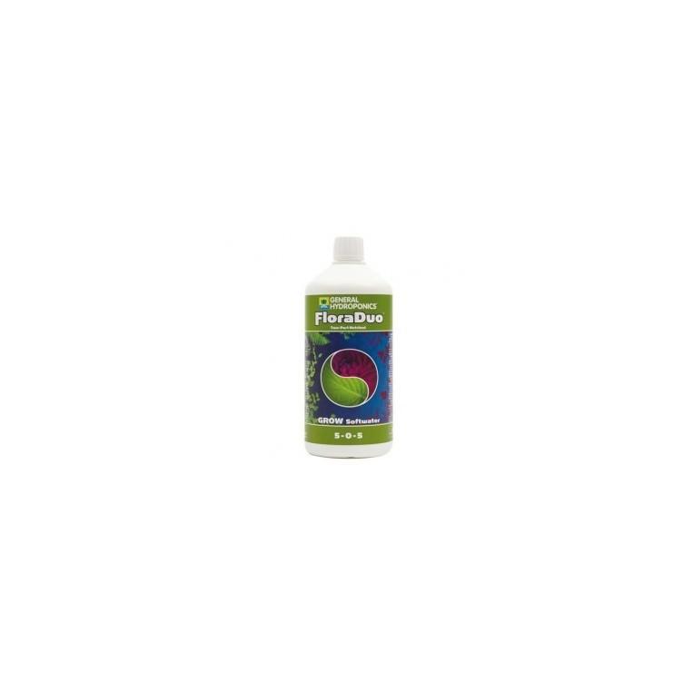 FloraDuo Grow Soft Water / Agua blanda (1L)