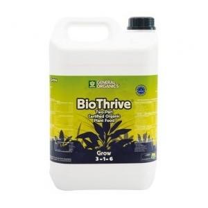 Abono Crecimiento de GHE BioThrive Grow (5L)