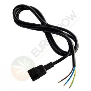Cable con clavija triple macho