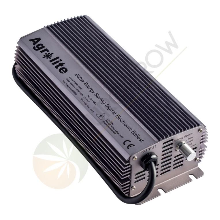 Balastro Electrónico Agrolite 600w con Regulador de Potencia