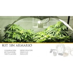 Kit cultivo interior con 1 foco