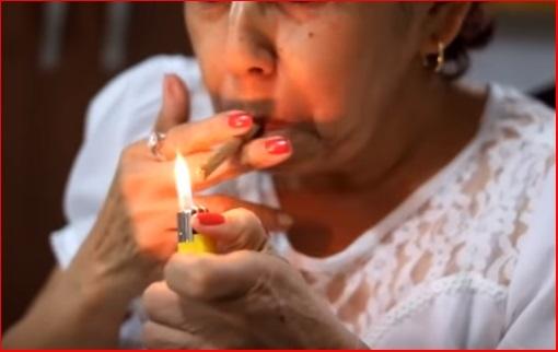 Fumando porros para adelgazar