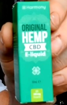 CBD E Liquid Hemp Original