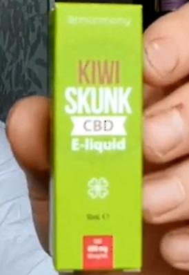 CBD E Liquid Kiwi Skunk