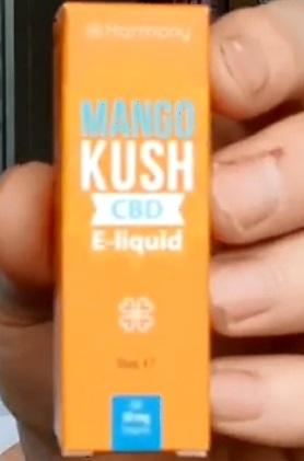 CBD E Liquid Mango Kush