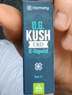 CBD E Liquid Og Kush