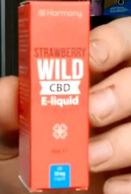 CBD E Liquid Wild Strawberry