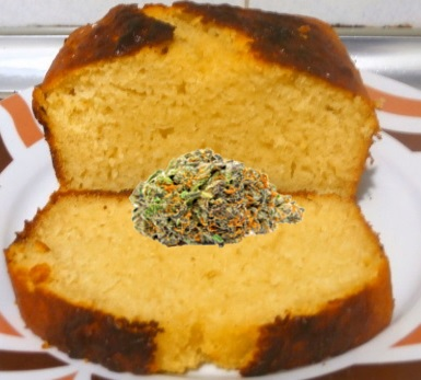Como hacer un pastel de marihuana