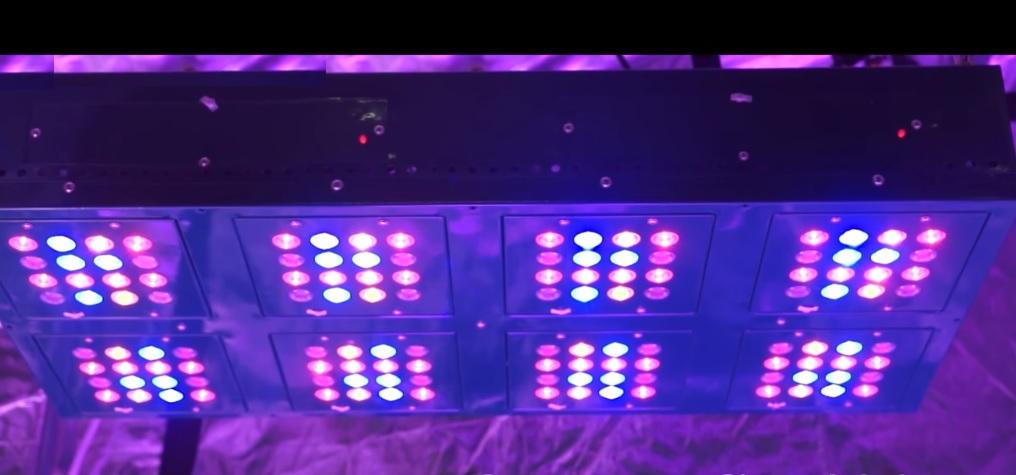 iluminación led para armarios de cultivo
