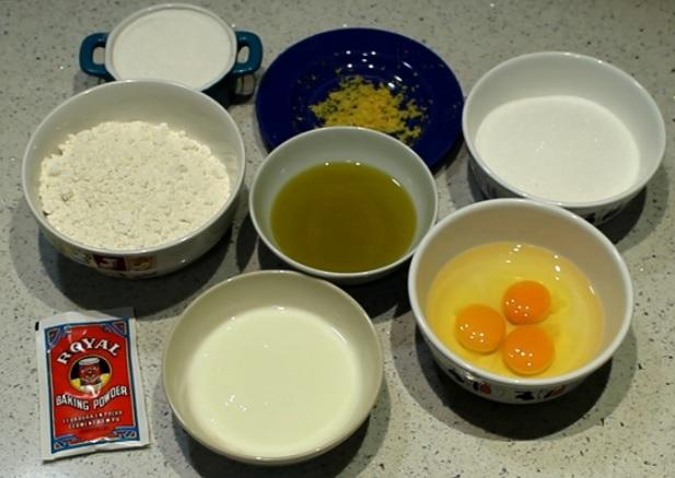 Ingredientes para pastel de marihuana