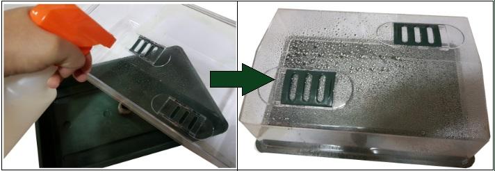 Pulverizamos propagador para germinacion
