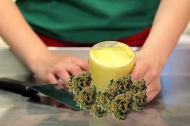 Receta Mantequilla de Marihuana