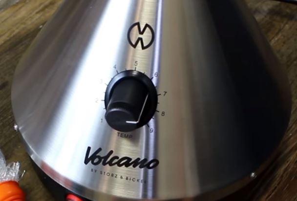 Ruleta temperatura Volcano