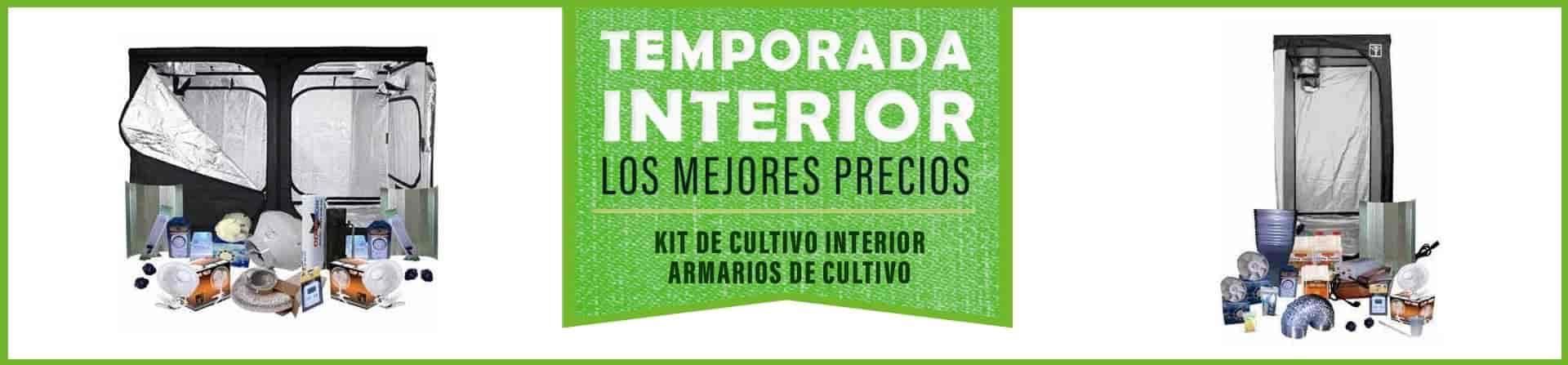 Kit de cultivo interior